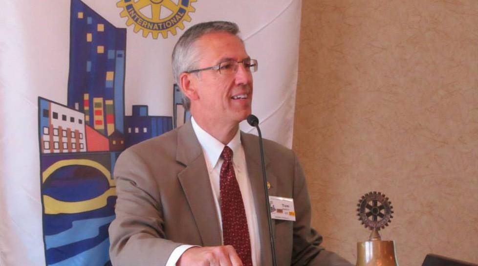 Mathison Installed as GR Rotary President - Mathison