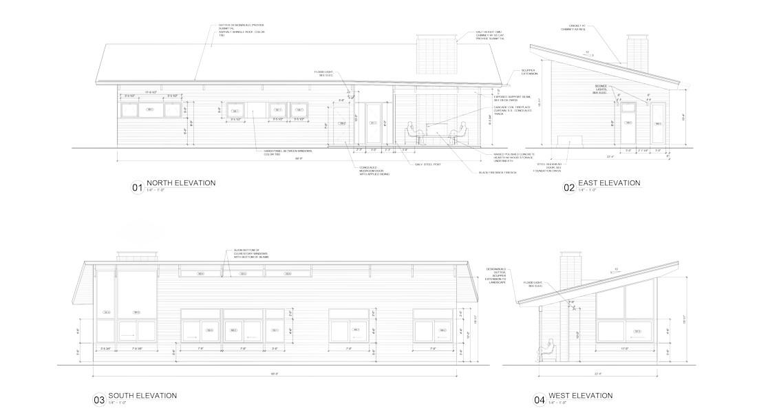 Moyaone House Mathison Mathison Architects